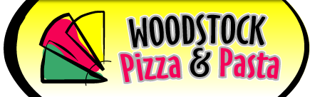 Woodstock Pizza & Pasta Logo